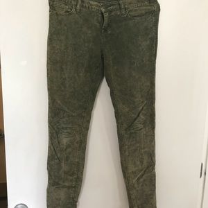 Green urban outfitters jeans